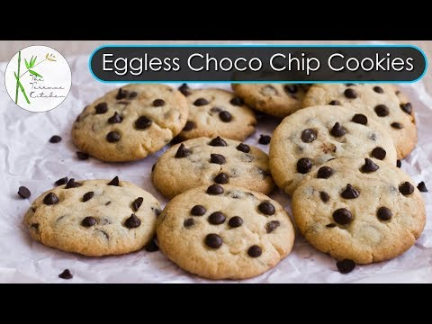 Chocolate Chip Cookies | Easy Choco Chip Cookies | Eggless Cookies ~ The Terrace Kitchen