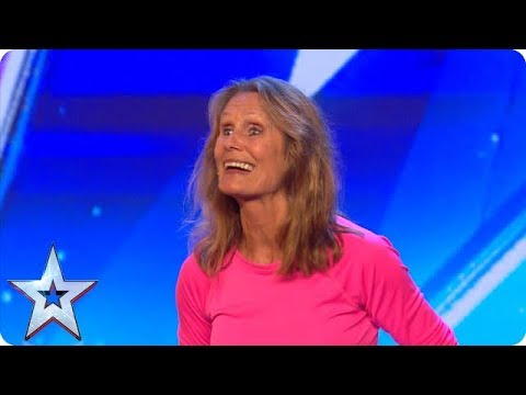 Will 70-year-old skipping granny jump through to the next round? | Auditions | BGMT 2018