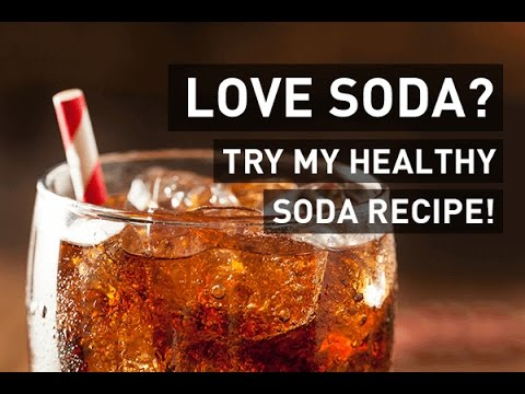 Soda Alternative: Easy Recipe (only 2 ingredients!)