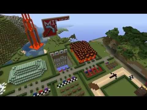 Minecraft Minescape Server (Spawn Point, Games & Shops)