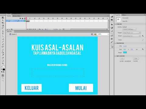 Tutorial Fullscreen pada Adobe Flash