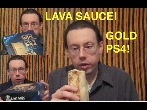 Taco Bell Volcano Quesarito PS4 Big Box Review