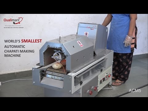 Compact Automatic Chapati Making Machine By Qualimark Machines Pvt. Ltd.