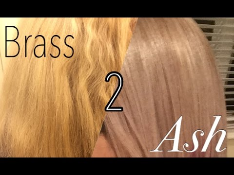 From Brass to Ash: Toning my blonde hair silver