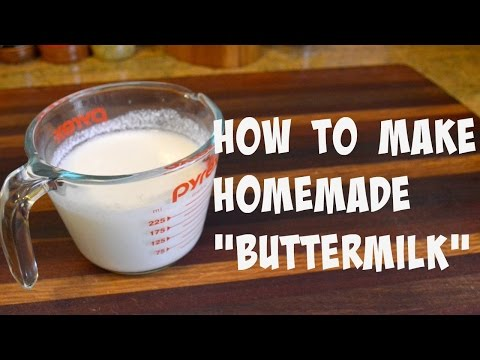 How to Make Homemade Buttermilk | Buttermilk Substitute |Cooking With Carolyn