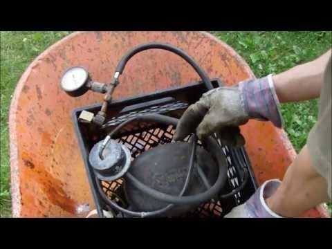 Homemade Silent Air Compressor (fridge motor) review, tips, air tanks