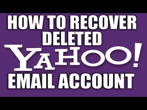 How to Recover Deleted Yahoo! Email Account 2016 - Yahoo Email Services