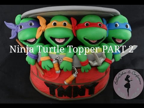 Ninja Turtle Topper Part 2 Man Hole