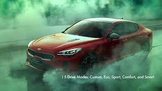2018 Kia Stinger GT | Kick the Stinger into Overdrive