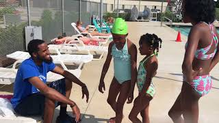 Can't believe Liese pushed me into the pool!! 😳 🏊🏾♂️😂
