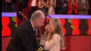 Soldier surprises his daughter live on TV
