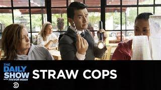 A Straw Cop Enforces Washington, D.C.'s Plastic Straw Ban   The Daily Show