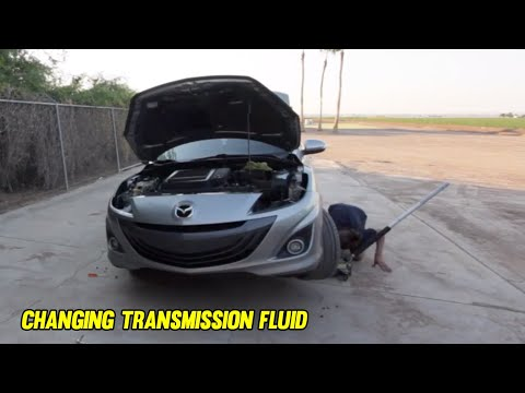 DIY: Changing Transmission Fluid (Mazdaspeed3)