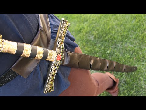 Easy DIY Scabbard! How To Make A Sheath