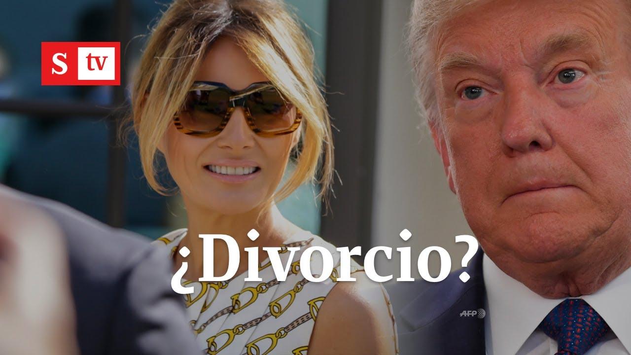 ¿Melania le dice adiós a Donald Trump?   Semana Noticias