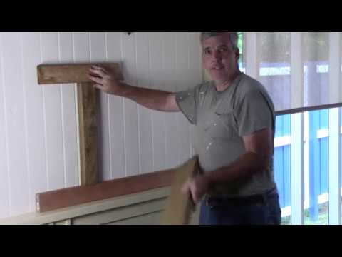 Answering Questions About Wainscoting Video