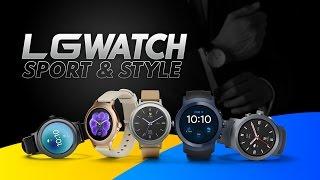 LG Watch Sport & LG Watch Style, primeras impresiones #MWC5x1 #MWC17