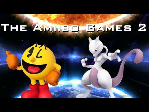 The Amiibo Games 2 - Grand Finals   Granpa (Pac-Man) vs. Espeon (Mewtwo)