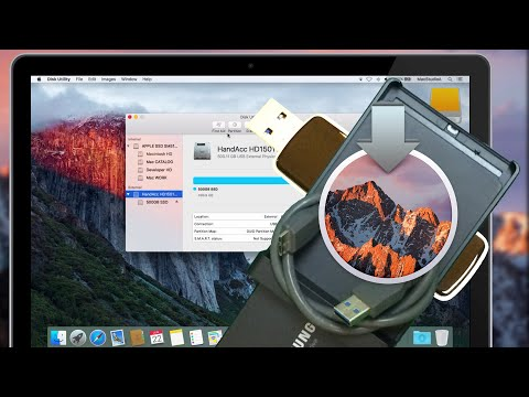 Install & Run macOS Sierra on External SSD or USB Flash Drive