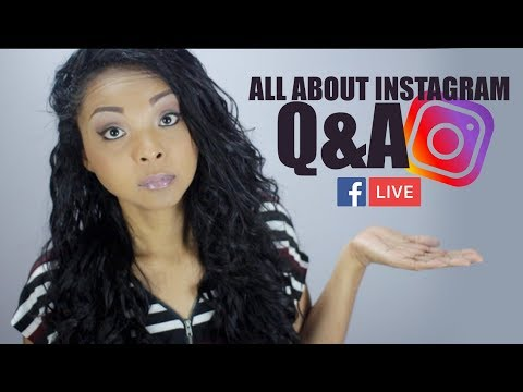 Instagram Marketing Tips for 2018 (LIVE STREAM)