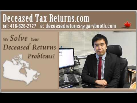 Deceased Tax Returns.com | Filing Returns for Deceased Persons in Canada