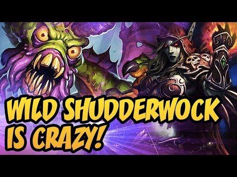 Hearthstone: Wild Shudderwock Is Crazy!
