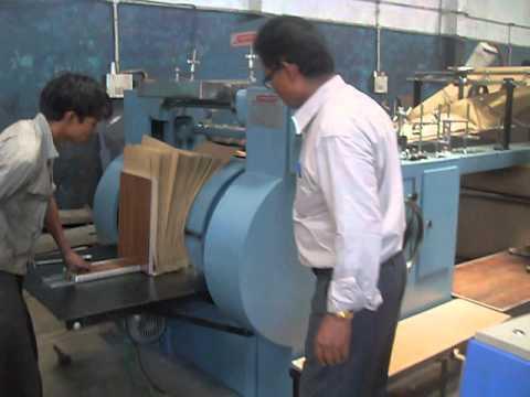 Paper Bag  Making Machine Video