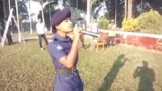 """মহিলা পুলিশ শারমি এর কন্ঠে চমৎকার গান """"ভোমর কইরো গিয়া""""।। BD Police News"""