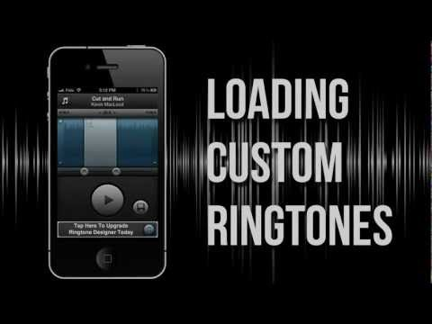 How to Load Custom RINGTONES into iPhone 5,4S,4 using Ringtone Designer