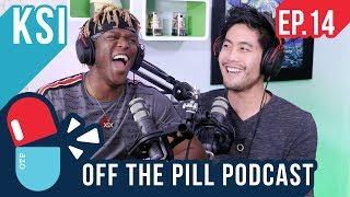 KSI Speaks on Jake & Logan Paul and the Sidemen (Ft. KSI) - Off The Pill #14