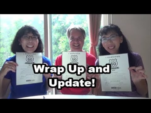 Road Trip Wrap Up and Update Vlog 32
