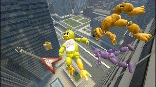 Sonic in GTA 5 Crazy Jumps-Falls-Ragdolls Funny Moments/Fails - GTA5