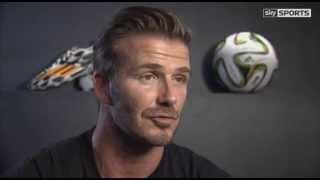 David Beckham discusses Luis Suarez moving to Barcelona and Steven Gerrard