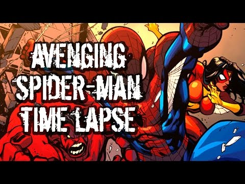 How To Color Comic Books Avenging Spidey