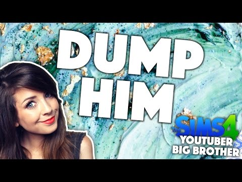 ZOELLA'S GUIDE TO DUMPING BOYS | YouTuber Big Brother | Sims 4