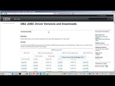 Download JDBC Driver for IBM DB2 Database