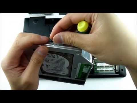 Samsung NP355V5C adding 2nd HDD / SSD using DVD / optical drive bay with HDD Caddy