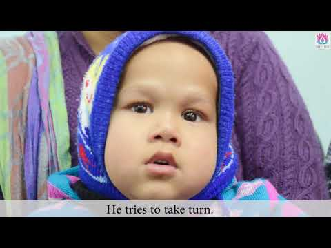 Severe cerebral palsy child cured by Naadi Yoga treatment | No medicines, just therapy