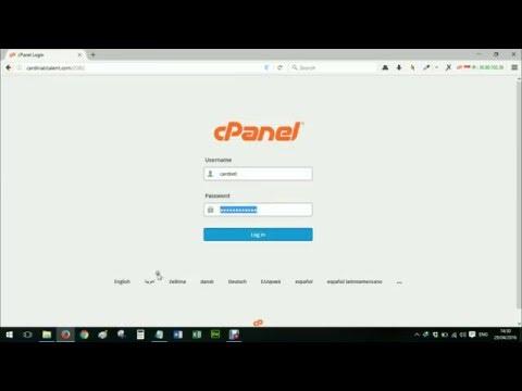 Tutorial Upload File Web Via Cpanel