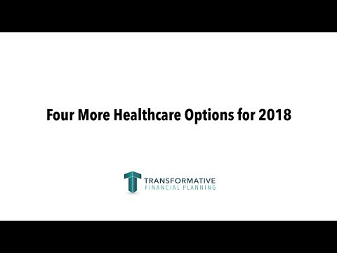 Four More Health Insurance Options for 2018 - Alternatives to ObamaCare Plans