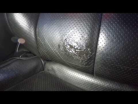 Permatex Leather repair on an Infiniti G37