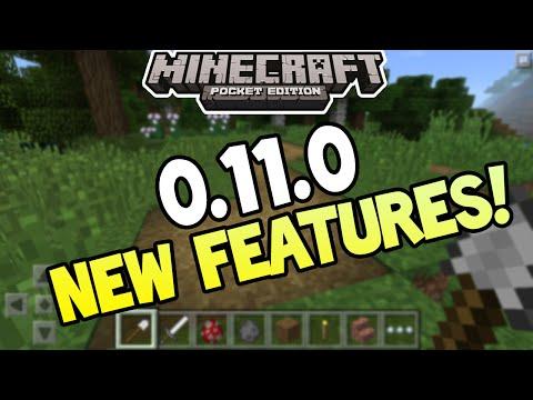 Minecraft Pocket Edition - 0.11.0 UPDATE! - PRESSED DIRT + MORE! INFO