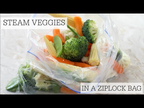 How To Steam Vegetables in a Bag in the Microwave | My Fussy Eater