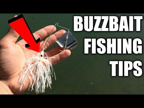 Buzzbait Bass Fishing Tips