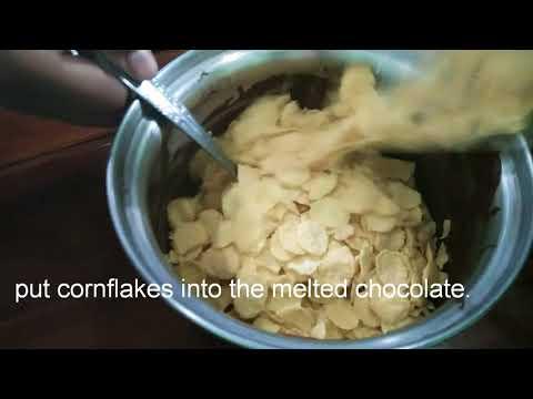 How to make cornflakes cake.