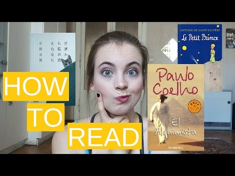 HOW TO START READING IN A FOREIGN LANGUAGE // Tips & Tricks