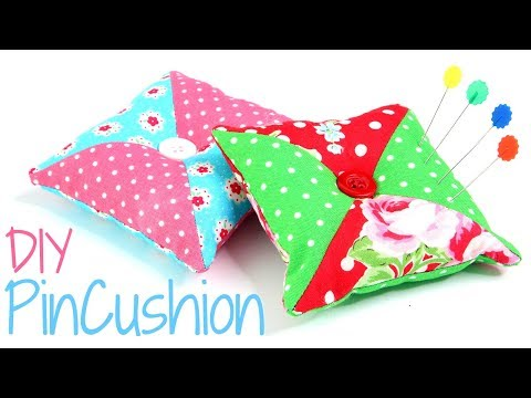 Patchwork Pin Cushion Pattern - DIY pincushion made simple