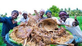 RAMZAN SPECIAL! 5 FULL GOAT MUTTON BIRYANI   Traditional Biryani Recipe   Village Cooking Channel