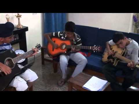 My Guitar group students performing