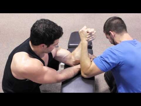 How to Use Pressure Points to Win in Arm Wrestling : Martial Arts Training